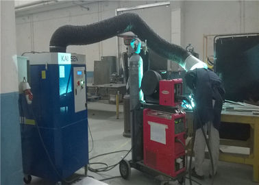 Welding / Manual Cutting Portable Extraction Unit , Single Arm Fume Extraction Equipment